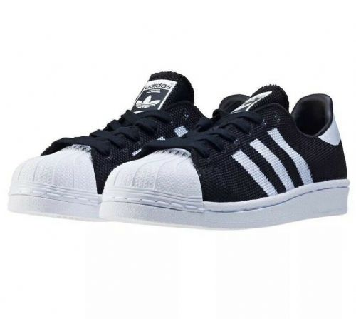 adidas Originals Superstar Junior Boys Girls Trainers Black & White BB2965